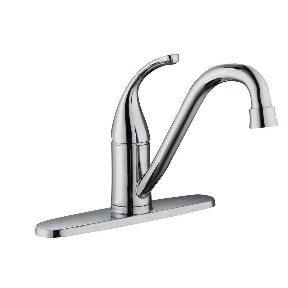 Glacier Bay Builders SingleHandle Standard Kitchen Faucet