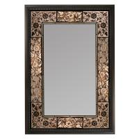 Deco Mirror 26 in. x 37 in. French Tile Rectangle Mirror ...