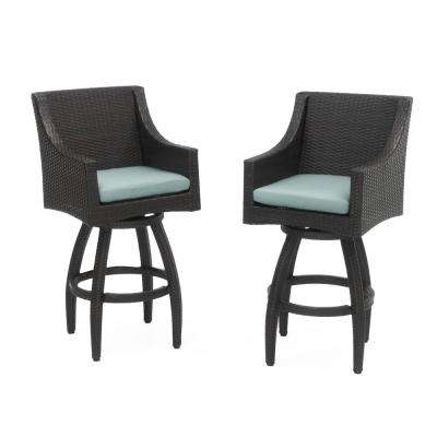 outdoor bar chairs nursery chair grey stools furniture the home depot deco