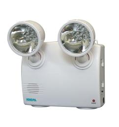 ideal security white 2 lamp blackout and power failure 6 led safety light [ 1000 x 1000 Pixel ]