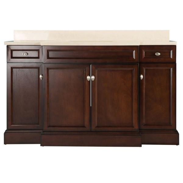 Home Decorators Collection Teagen 58 In. Bath Vanity In