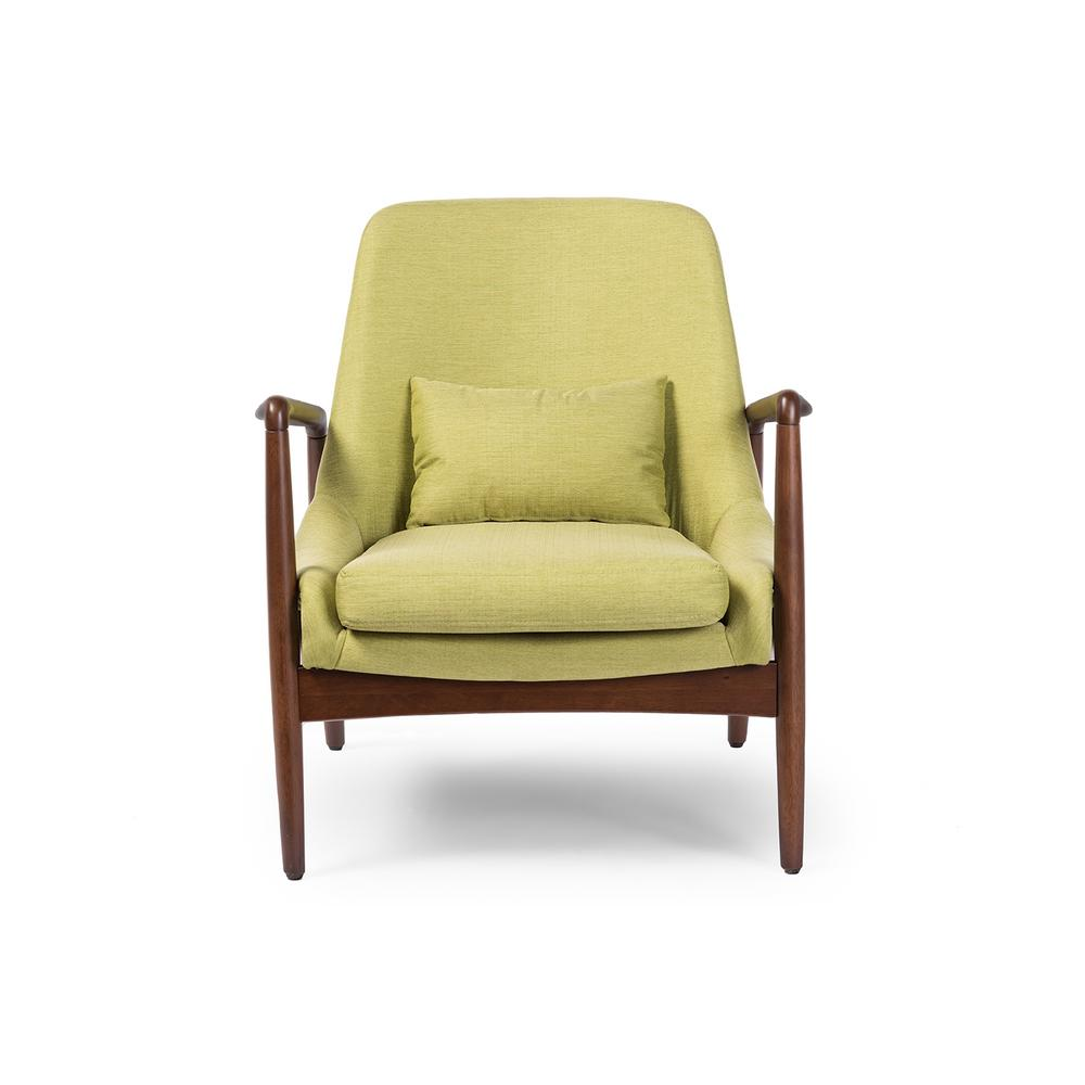 Green Upholstered Chair Baxton Studio Carter Mid Century Green Fabric Upholstered Accent