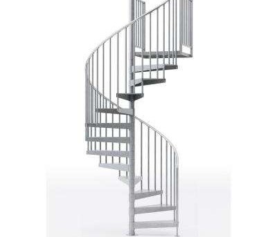 Spiral Staircase Kits Stair Parts The Home Depot | Outside Steps For Sale | Wood | Iron | Handrail | Pensacola | Door