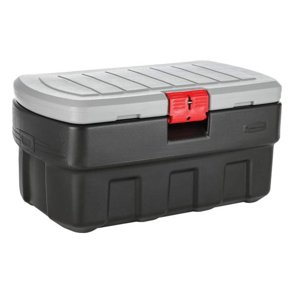 Rubbermaid 35 Gal. Action Packer Storage Tote-rmap350000 - Home Depot