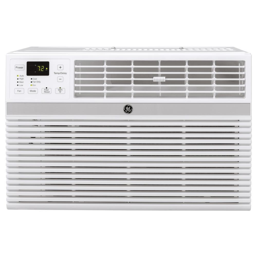 GE 18000/17600 BTU 230/208-Volt Smart Window Air ...