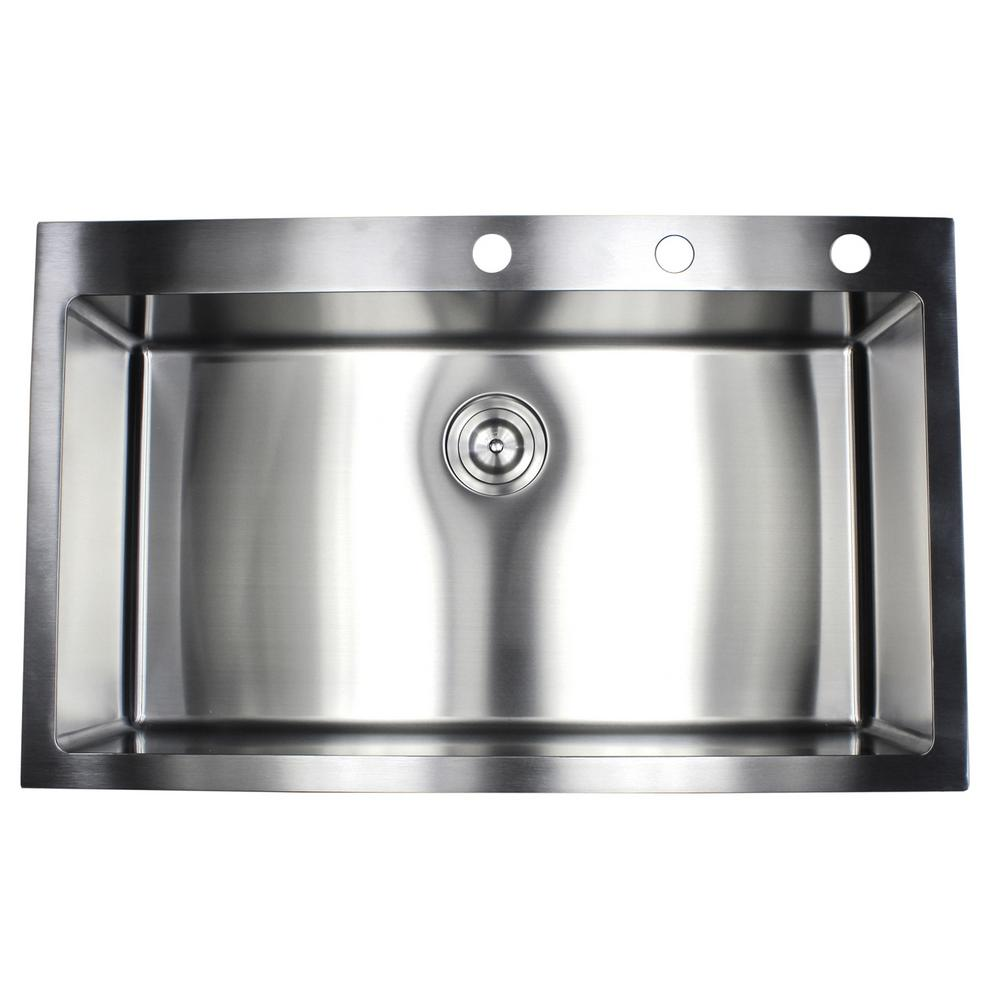 36 kitchen sink home depot canada island drop in top mount 16 gauge stainless steel x 22 10 single bowl rt3622 the