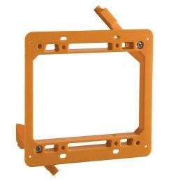2 gang low voltage mounting bracket case of 6  [ 1000 x 1000 Pixel ]