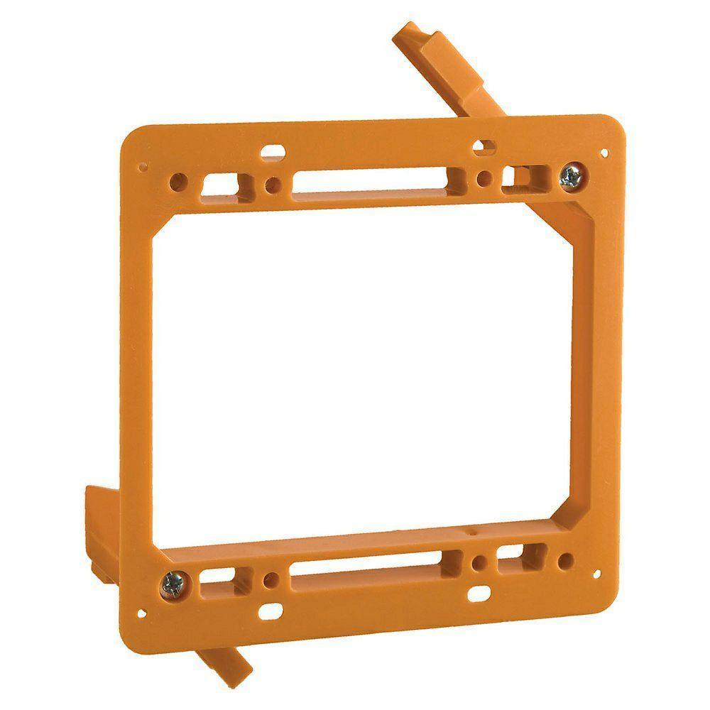 medium resolution of 2 gang low voltage mounting bracket case of 6