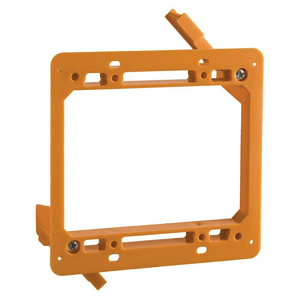 hight resolution of 2 gang low voltage mounting bracket case of 6