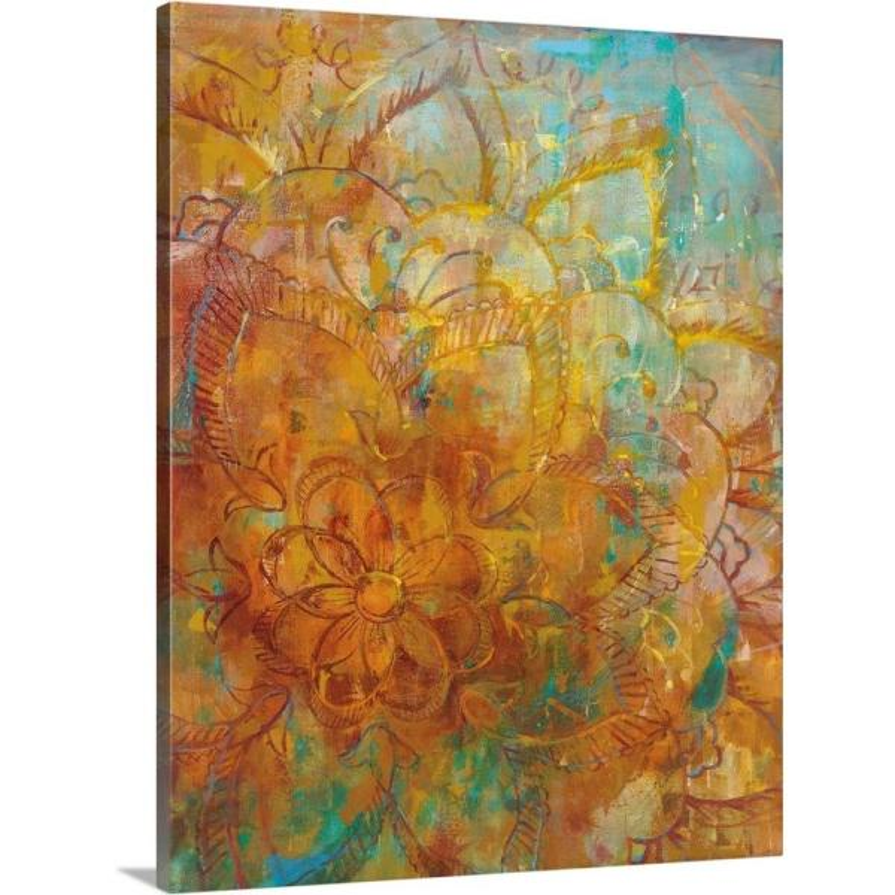 bohemian abstract bright crop