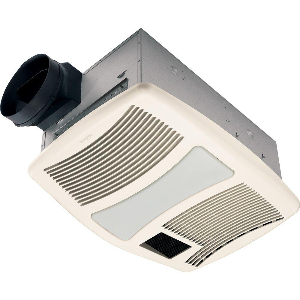 medium resolution of nutone qt series very quiet 110 cfm ceiling bathroom exhaust fan with heater light and