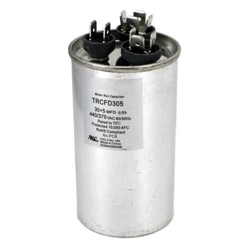 small resolution of packard 440 volt 30 5 mfd dual rated motor run round capacitor
