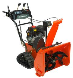 ariens compact track 24 in 2 stage electric start gas snow blower [ 1000 x 1000 Pixel ]
