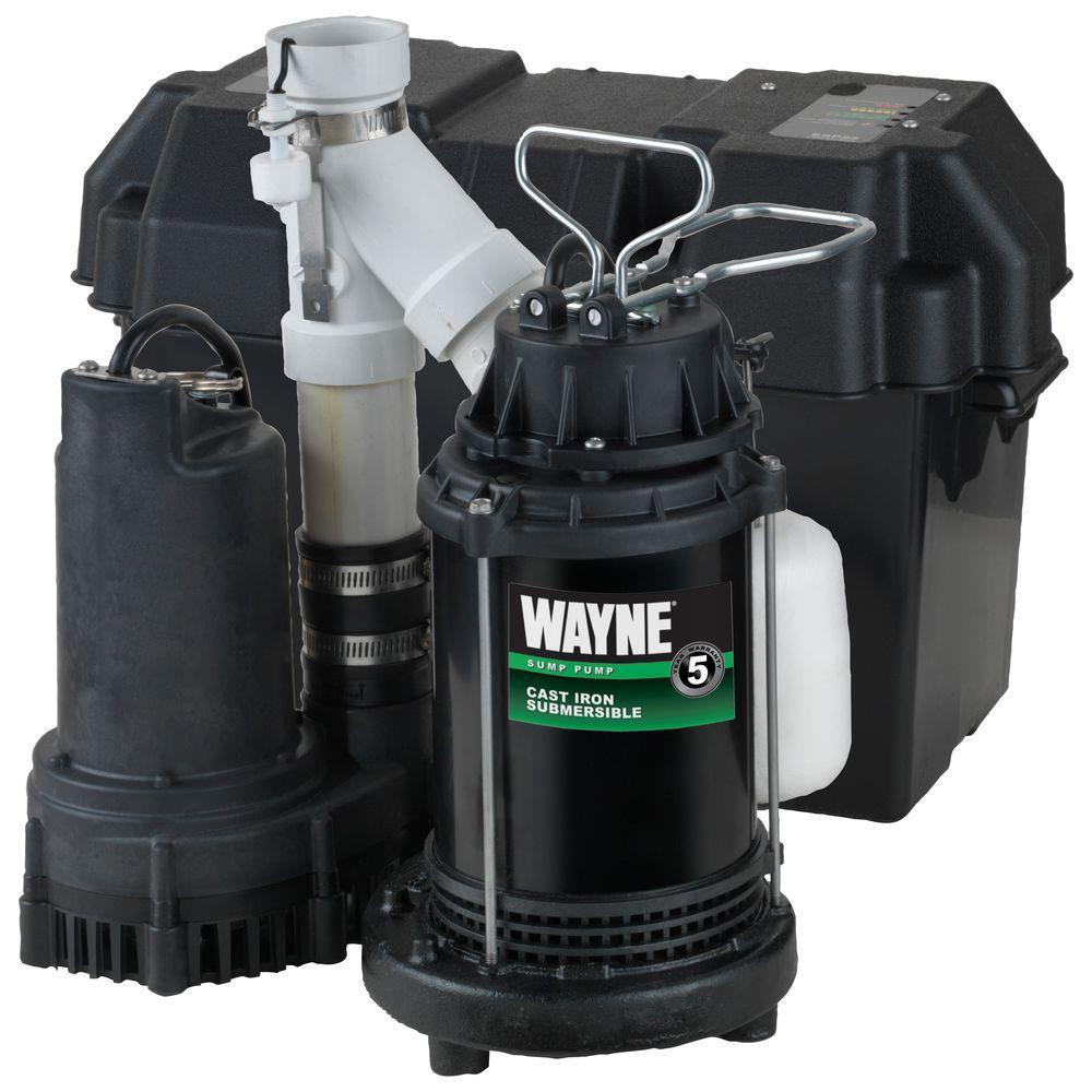 medium resolution of 1 2 hp battery backup sump pump system