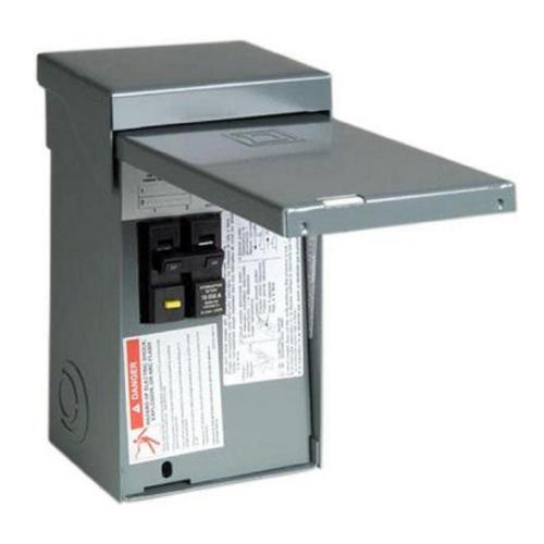 small resolution of square d homeline 50 amp 2 space 4 circuit spa panel main lug load