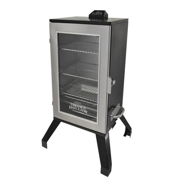 Digital Electric Smoker Window Stainless Steel 3-rack Bbq Outdoor Cooking 30-in. 812771018135