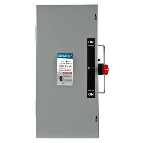 small resolution of siemens double throw 60 amp 240 volt 3 pole indoor non fusible safety