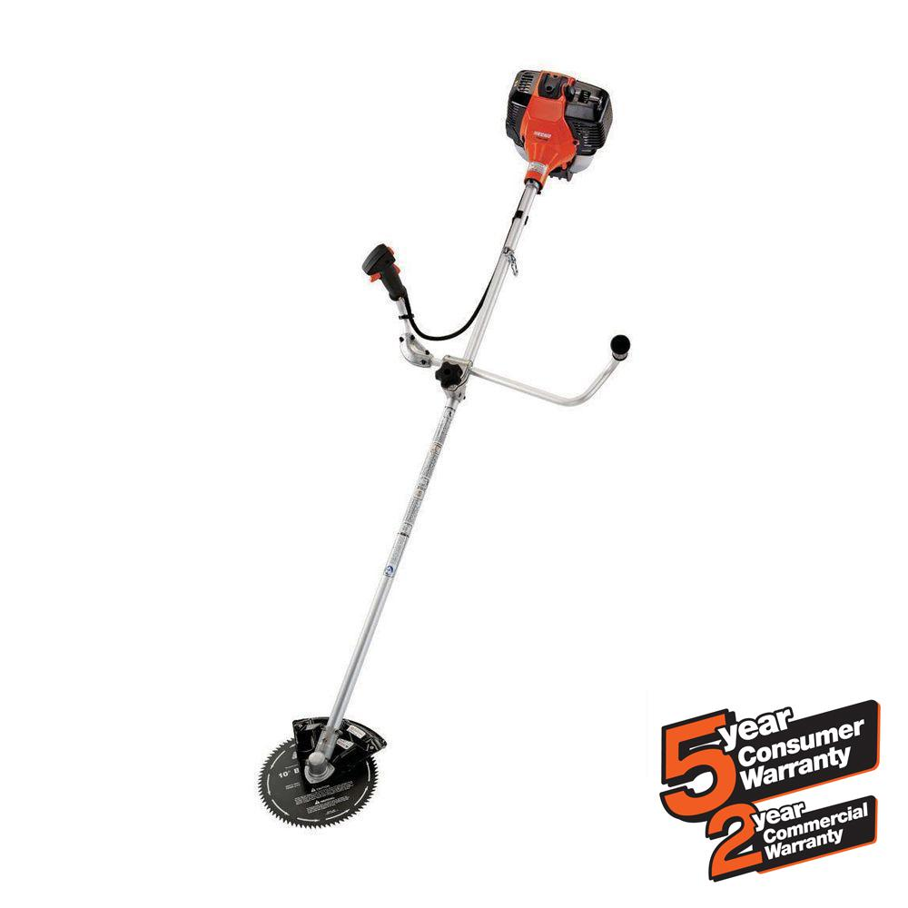 ECHO 42.7cc Gas 2-Stroke Cycle Brush Cutter Trimmer-SRM