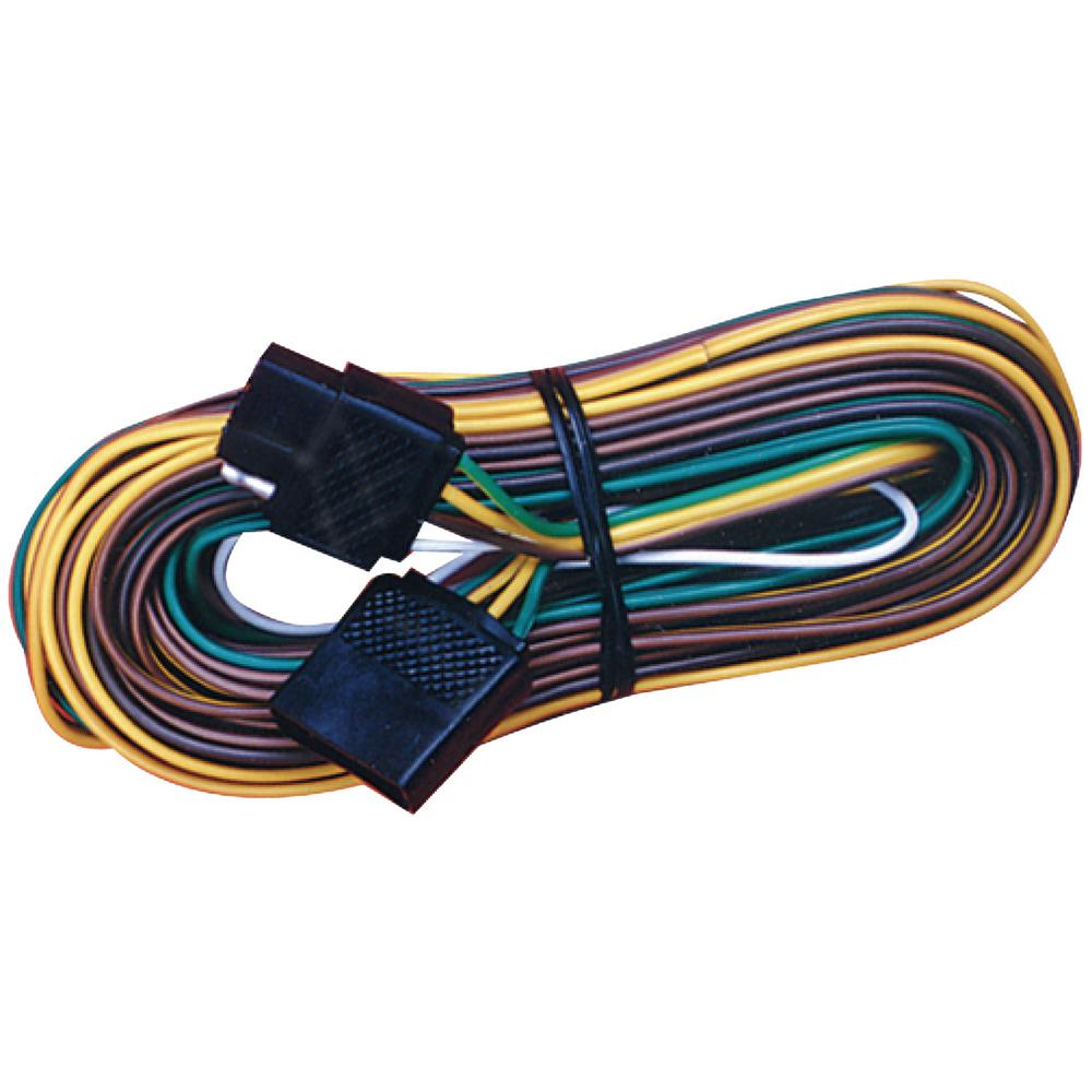 hight resolution of flat 4 pole trailer y harness