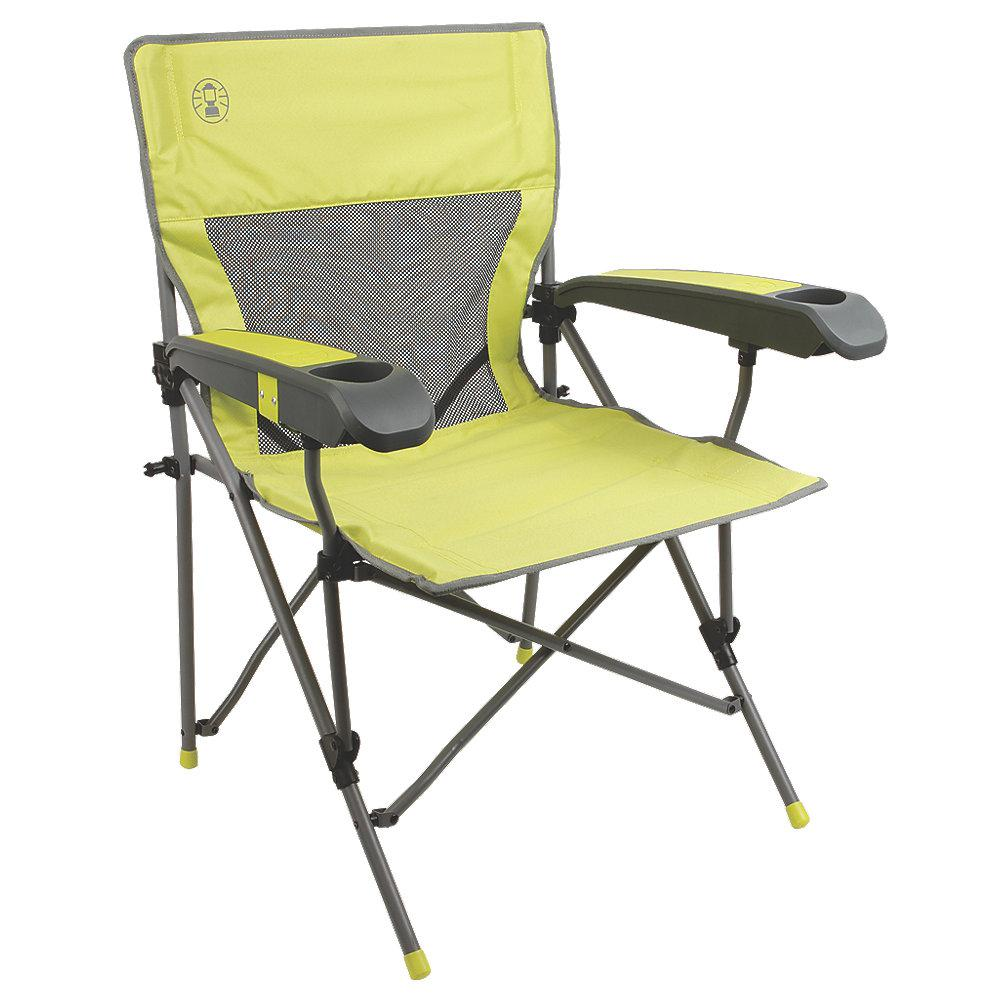 home depot camping chairs swing chair replacement coleman furniture the vertex plus hard arm