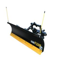 residential electric auto angle snow plow [ 1000 x 1000 Pixel ]