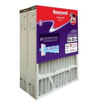 Honeywell 16 in. x 25 in. x 4 in. Pleated Replacement Air ...