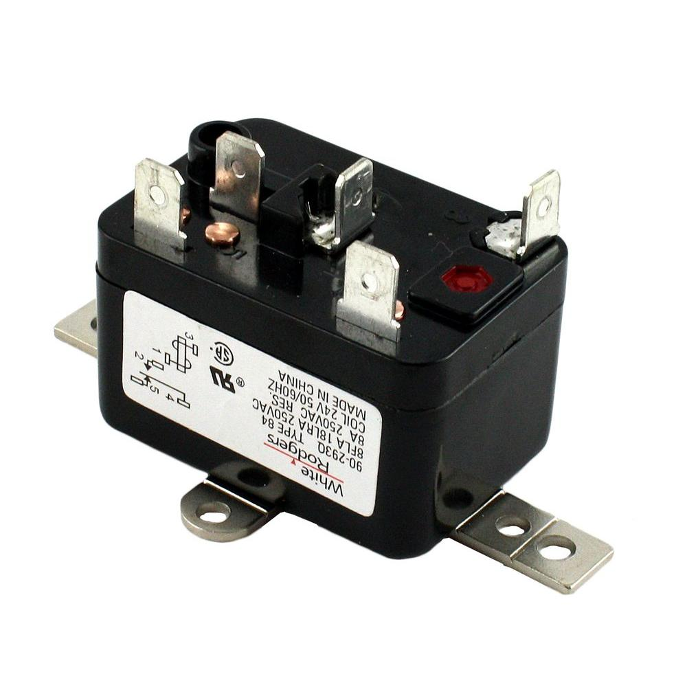 hight resolution of white rodgers 24 volt coil voltage spdt rbm type relay