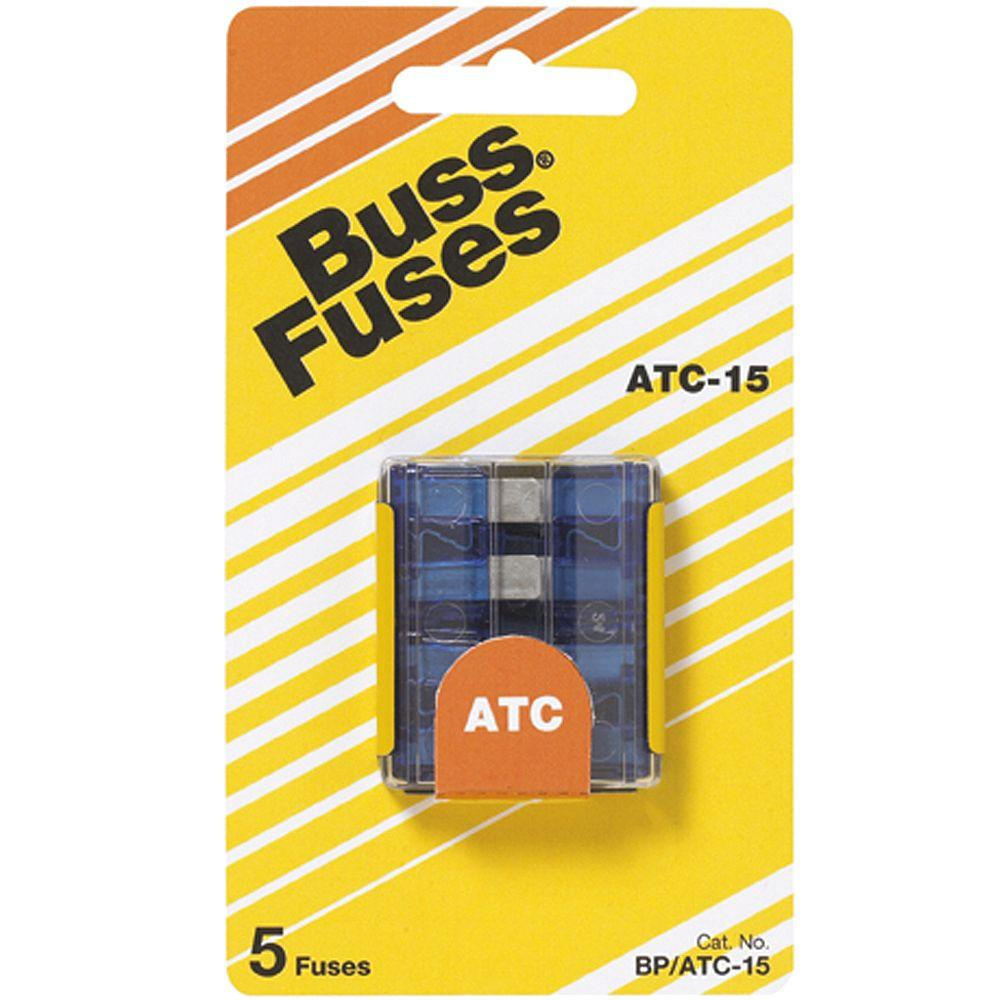 hight resolution of atc series 15 amp silver auto fuses 5 pack