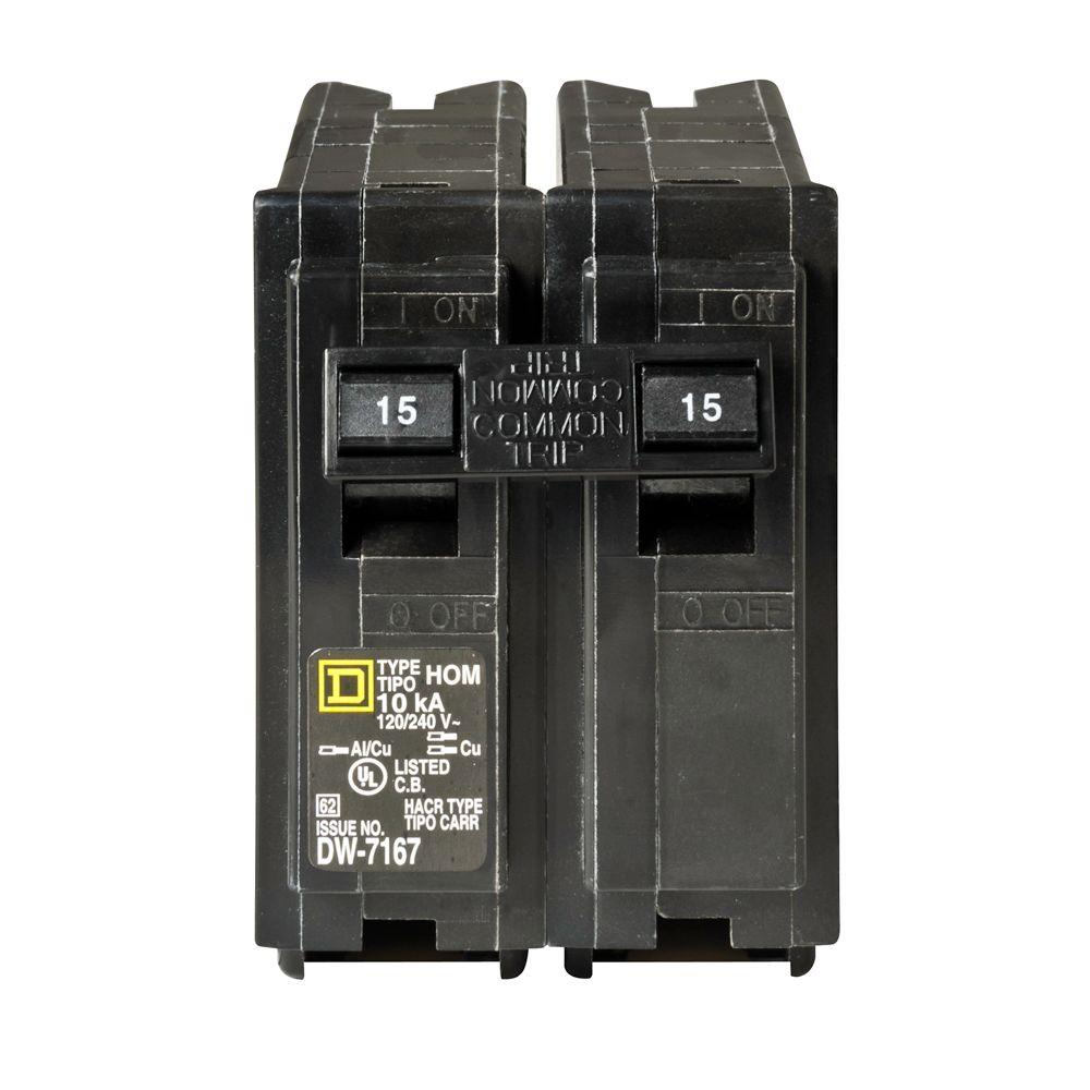 medium resolution of square d homeline 30 amp 2 pole circuit breaker hom230cp the home depot