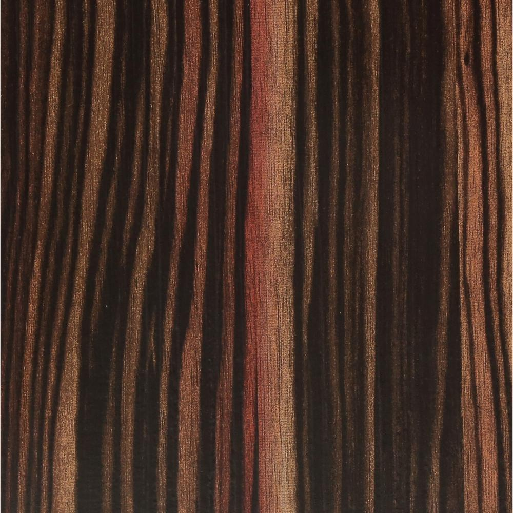 TrafficMASTER Rosewood Ebony 6 in x 36 in Luxury Vinyl