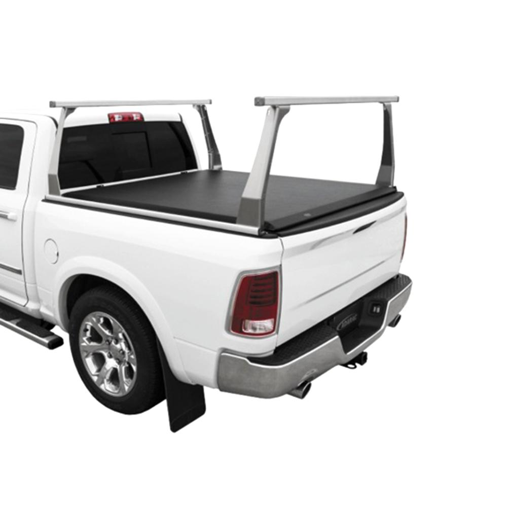 hight resolution of adarac aluminum series 2007 19 toyota tundra 8ft bed truck rack