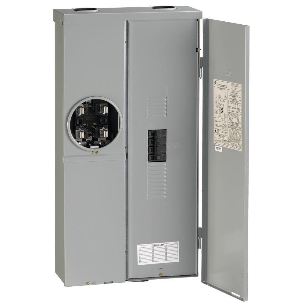 medium resolution of ge 200 amp 120 240 volt meter socket load center