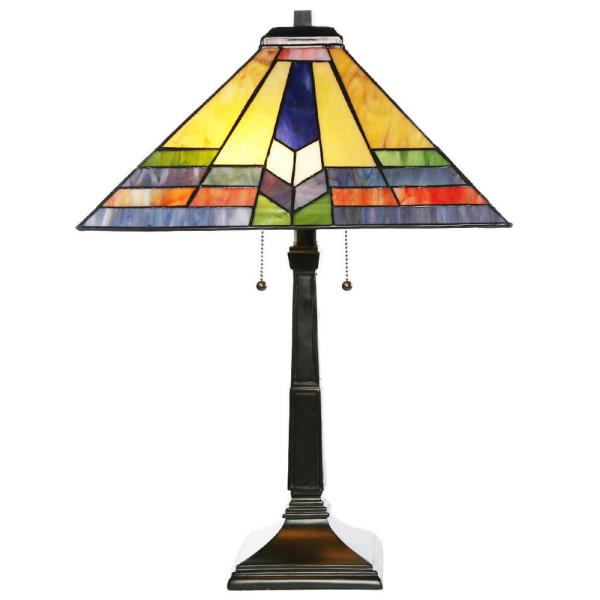 River Of Goods 23.5 In. Multi-colored Table Lamp With
