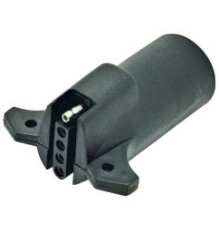 reese towpower 7 to 5 way brake light adapter [ 1000 x 1000 Pixel ]