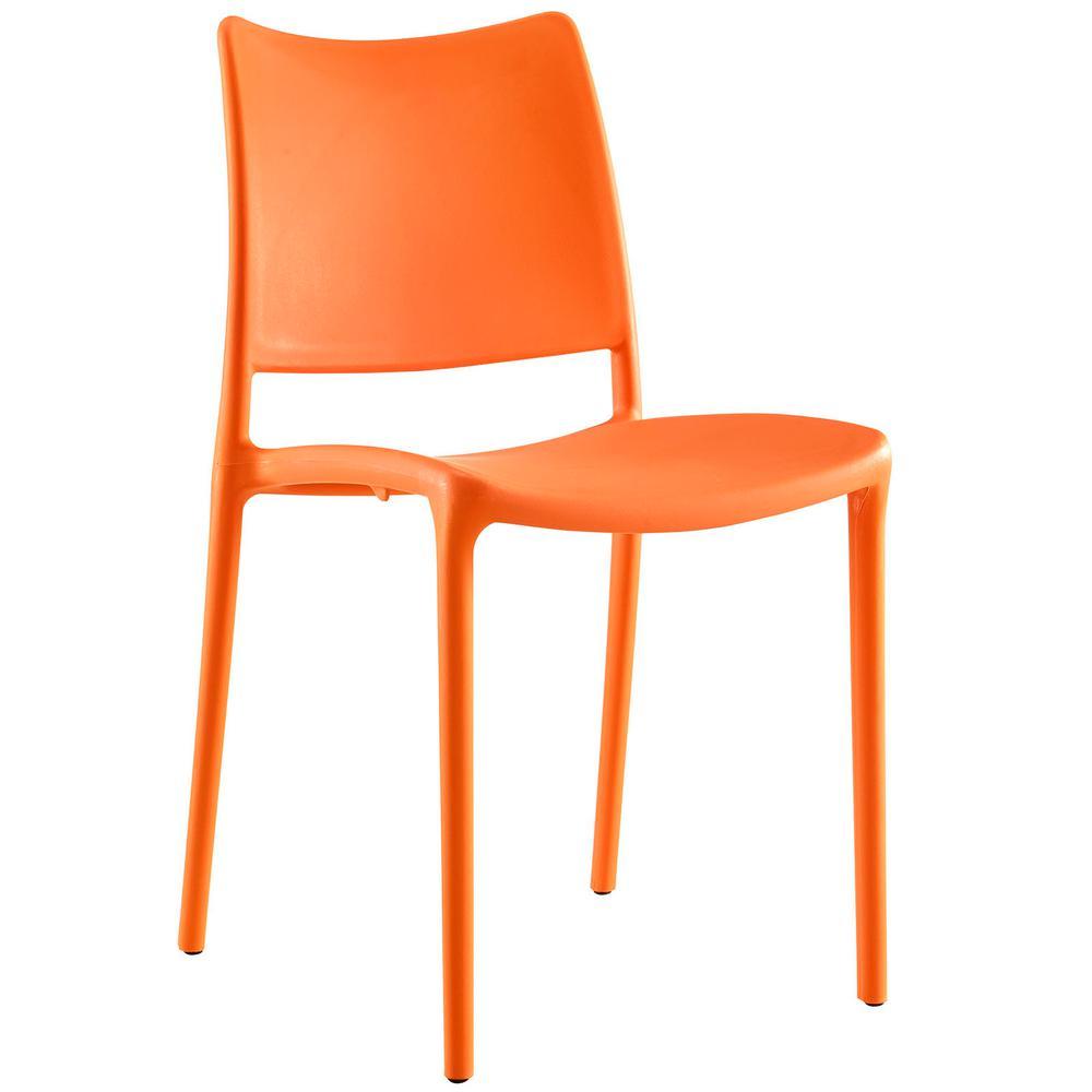 orange side chair accent chairs blue modway hipster dining eei 1703 ora the home depot
