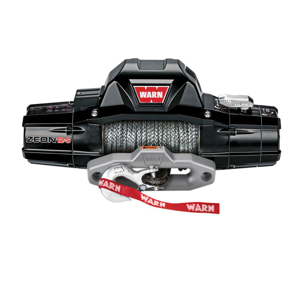 medium resolution of zeon 12 s 12 000 lb winch with synthetic rope