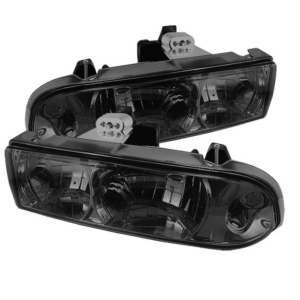 hight resolution of chevy s10 98 04 chevy blazer 98 05 crystal headlights smoke