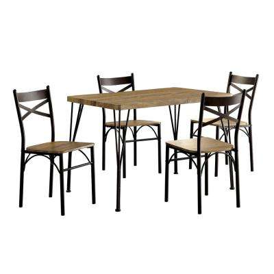 grey kitchen table and chairs dining chair covers gumtree gray room sets furniture the home stasel 5 piece dark bronze set