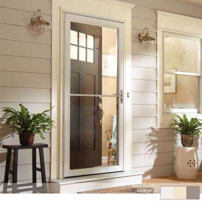 Green Storm Doors Exterior Doors The Home Depot