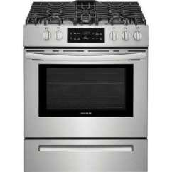 Kitchen Stove Gas Rustic Table And Chair Sets Ranges The Home Depot Single Oven Range With Self Cleaning