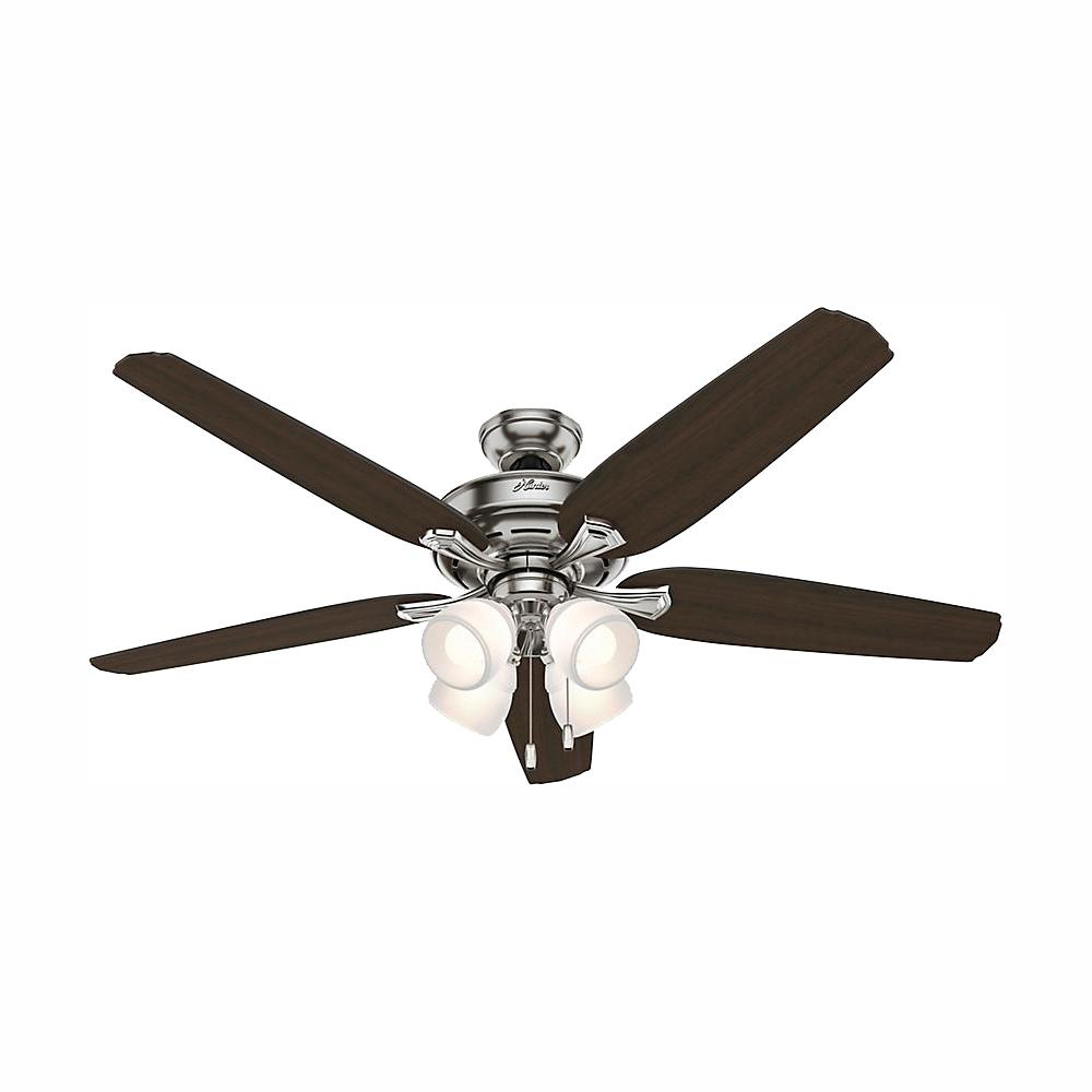 hight resolution of hunter channing 60 in led indoor brushed nickel ceiling fan with hunter ceiling fan replacement wiring harness