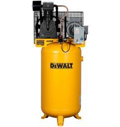 dewalt 80 gal 7 5 hp 175 psi 2 stage stationary electric air compressor [ 1000 x 1000 Pixel ]