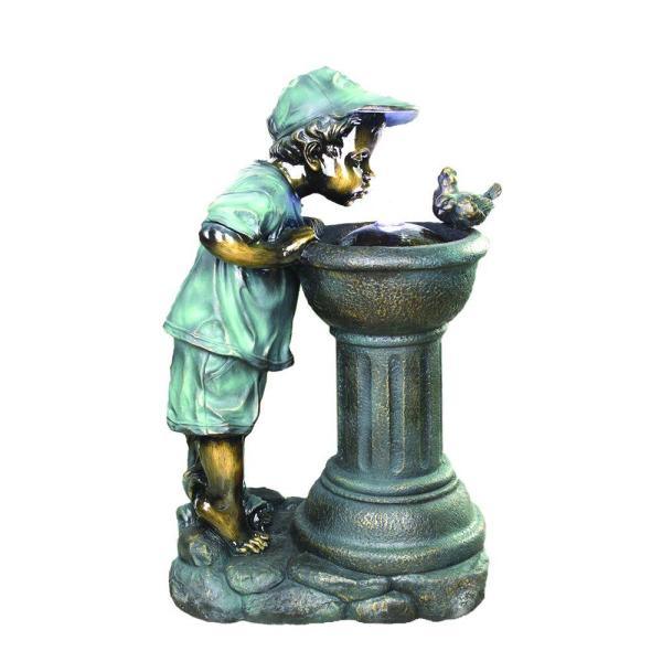 Beckett Sharing Water Fountain-7292810 - Home Depot
