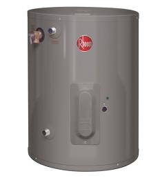 6 year 2000 watt single element electric point of use water heater xe20p06pu20u0 the home depot [ 1000 x 1000 Pixel ]