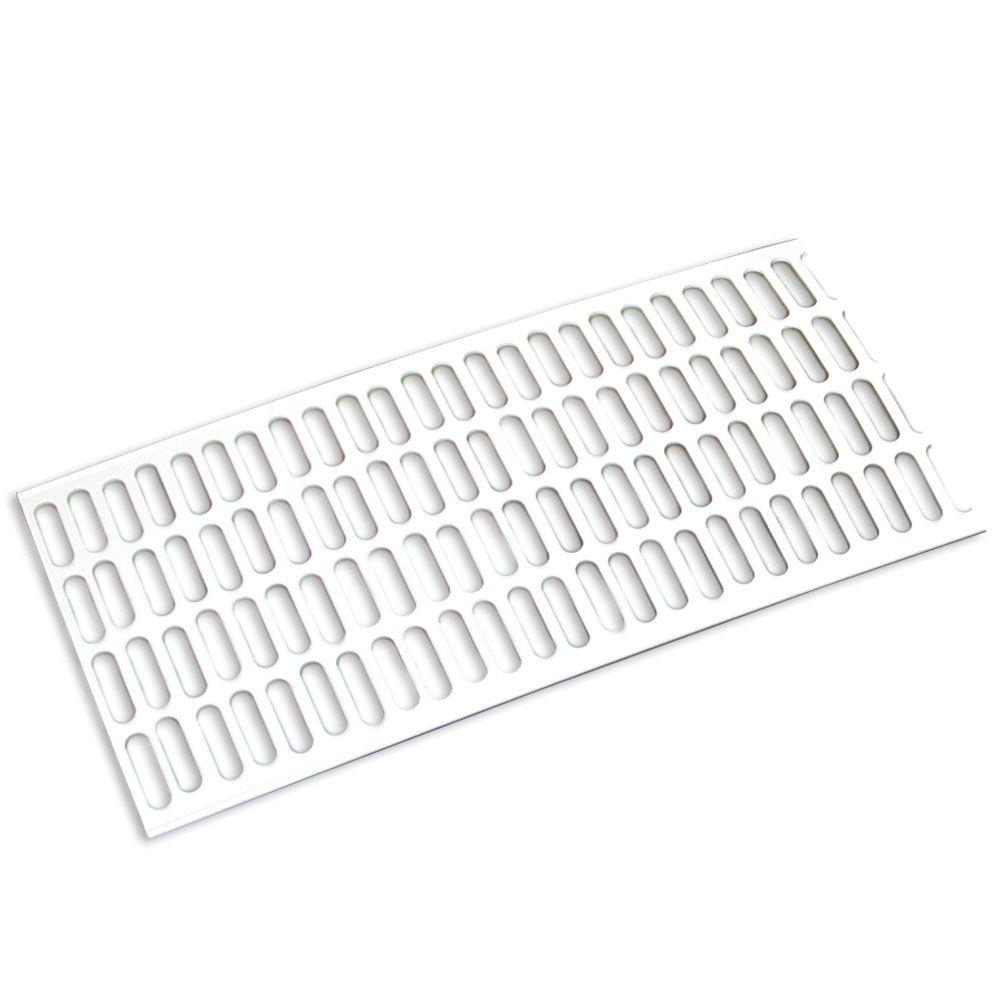 Amerimax Home Products 5 ft. White Vinyl Leaf Guard