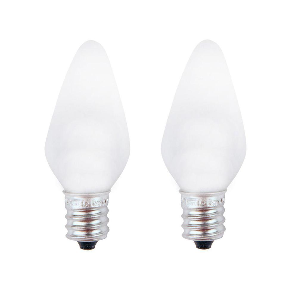 medium resolution of meridian 7w equivalent bright white c7 non dimmable led replacement light bulb 2