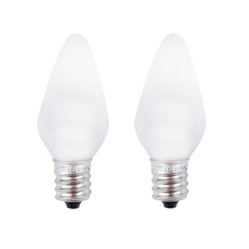 small resolution of meridian 7w equivalent bright white c7 non dimmable led replacement light bulb 2