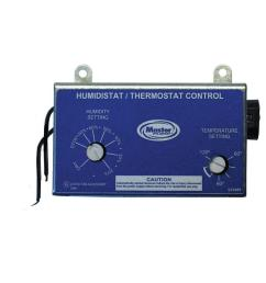 master flow manually adjustable humidistat thermostat control for pg pr power vents [ 1000 x 1000 Pixel ]