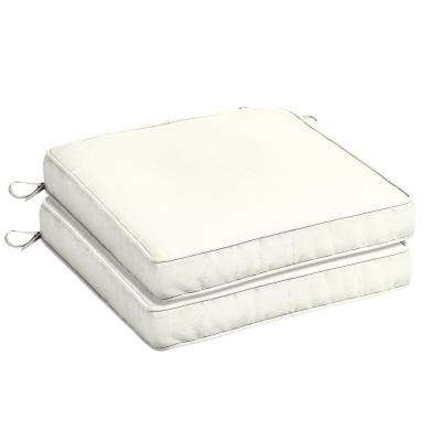 white lounge chair cushions folding beds foam 2 pick up today outdoor sunbrella canvas square seat cushion pack