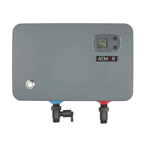 Atmor 14 Kwith240-volt 2.3 Gpm Electric Tankless Water Heater Demand With